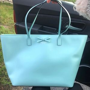 Kate Spade mint tote